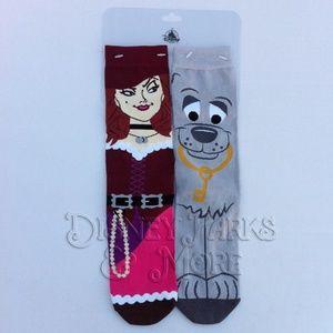 Disney Parks Pirates of the Caribbean Unisex Socks